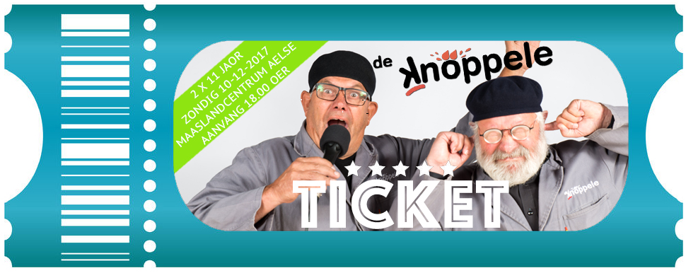 Knoppele ticket 10.12.2017